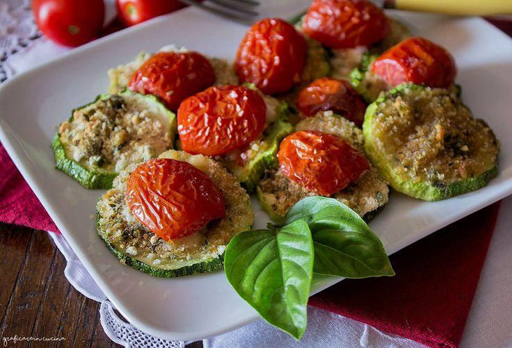 Zucchine gratinate antipasto semplice e veloce sono un'idea per le cene estive…