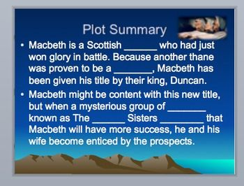 An Analysis of Macbeth Ideas, a Play by William Shakespeare