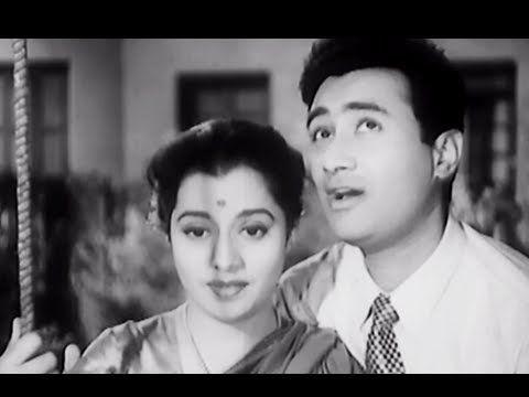 Yaad Kiya Dil Ne Kahan Ho Tum - Best Romantic Hindi Song - Dev Anand, Usha Kiran - Patita - YouTube