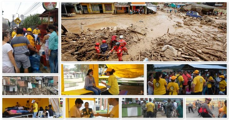 Scientology Volunteer Ministers Help in the Wake of Colombia Disaster      Providing relief to those left stranded by the floods in Mocoa, Colombia http://qoo.ly/eqb69    The Church of Scientology of Bogotá is providing relief in the wake of the worst natural disaster to hit Colombia in decades. Torrential rains and flooding triggered mudslides and submerged entire sections of the sprawling city of Mocoa, killing more than 300 and displacing thousands.    Church executives issued a call to…