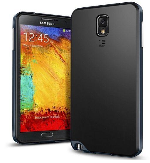 Θήκη Πλαστική Bumble Case ΟΕΜ Navy Μπλε (Galaxy Note 3) - myThiki.gr - Θήκες Κινητών-Αξεσουάρ για Smartphones και Tablets - Χρώμα Navy μπλε