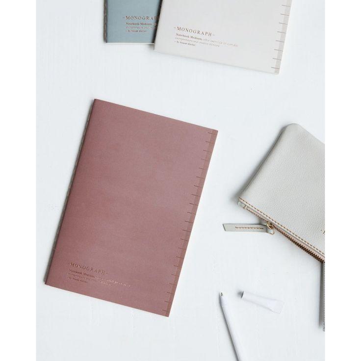 Notebook SOFT Dot Paper Light Burgundy - A5