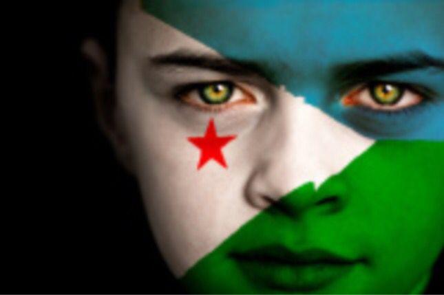 Djibouti Flag Boy Capital: Djibouti City