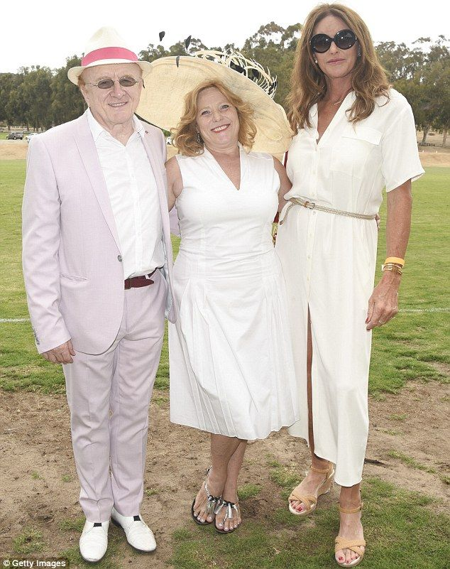 Caitlyn Jenner is the center of attention at charity polo match #dailymail