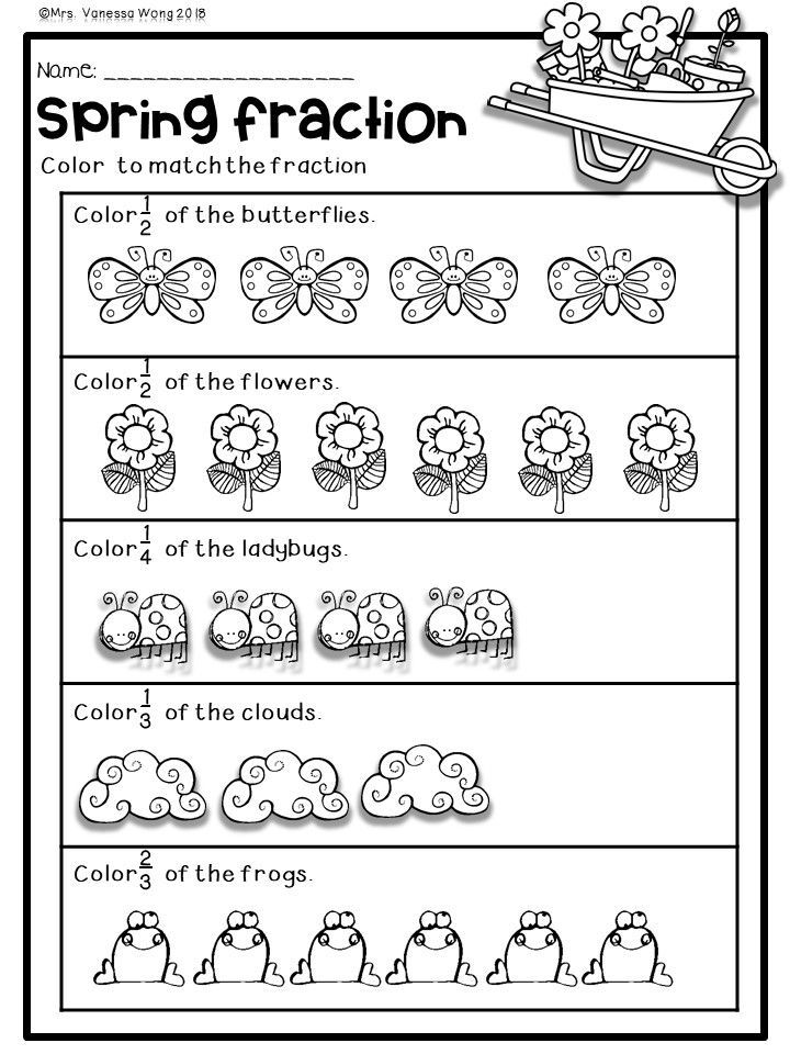 Spring Math And Literacy No Prep Printables First Grade Distance