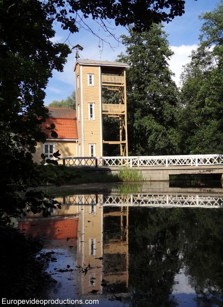 Fiskars design and art Village in Southern Finland  (the pin via Ꮇaritsa's travels • https://www.pinterest.com/pin/331155378826352393/ )