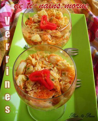 Verrines tinain morue 1 recette exotique pinterest - Cuisine antillaise guadeloupe ...