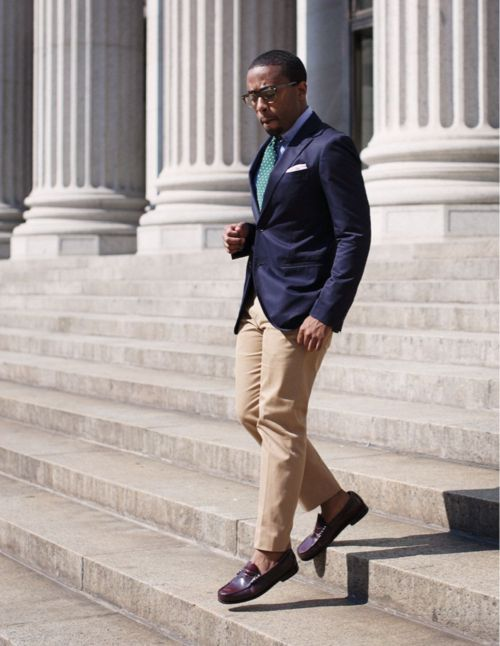 StepsColors Combos, Polka Dots, Navy Blazers, Street Style, Men Style, Men Loafers, Men Fashion, Pennies Loafers, Dresses Codes