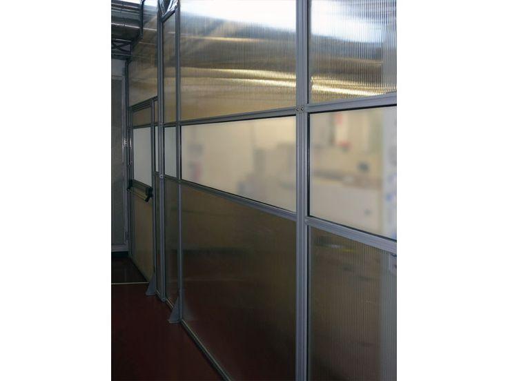 Linea MACROWALL - Pannelli divisori, pareti mobili, separè su ruote, schermi flessibili, progettazione, produzione e vendita - Clipper System