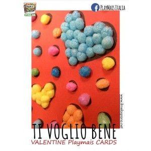 Free Printable Valentine's Card http://www.ilmelograno.net/it/playmais-italia/566-sanvalentinoplaymais.html