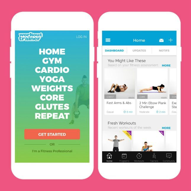 If you can't afford the cost of a personal trainer but still want that one-on-one connection during your workout, this app is a great option.
