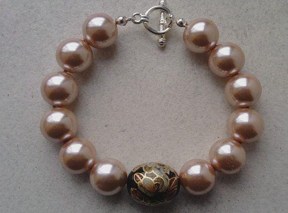 Beaded bracelet by DevineEssence on Etsy, $6.99