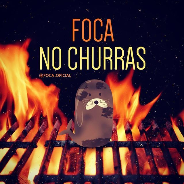 #focanochurras #foca #foco #churras #churrasco #amo #barbecue #festa #cerva…