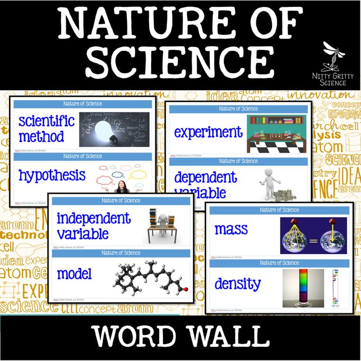 Download my FREE Nature of Science Word Wall to help you get started increasing your students' use of science vocabulary. Word walls used to be a term heard only in elementary schools.  Nowadays it is more common that teachers of all grade levels are finding them effective and worthwhile for their students to develop and reinforce content area vocabulary.