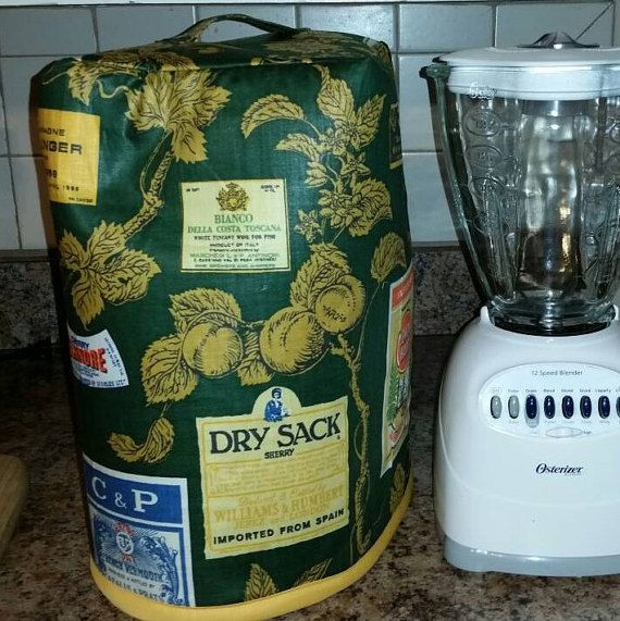 Osterizer Oster Full Size Blender Countertop COVER Bottoms Up