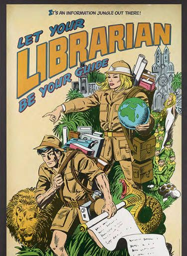 Let Your Librarian Be Your Guide :: American Library Association Archives Posters