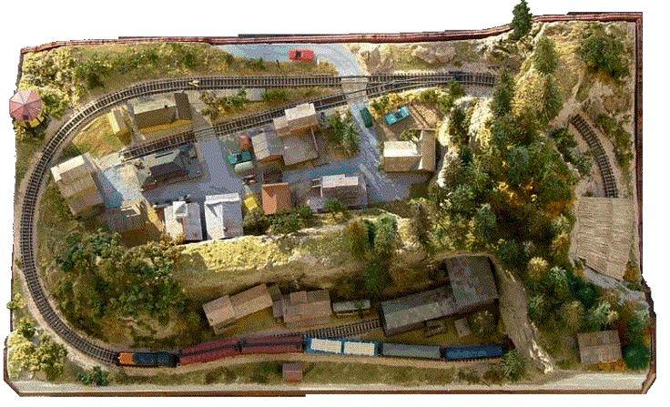 N Scale Layout By Errol Kettlestack Model Railroad