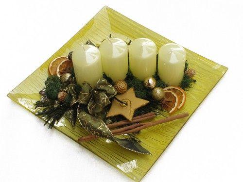 3 gyönyörű adventi és karácsonyi dekoráció