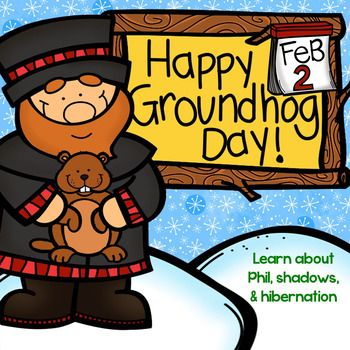 Happy Groundhogs Day is a 128 page pack that combines learning about Groundhogs Day, hibernation, and shadows all in one nice neat package! Super fun!