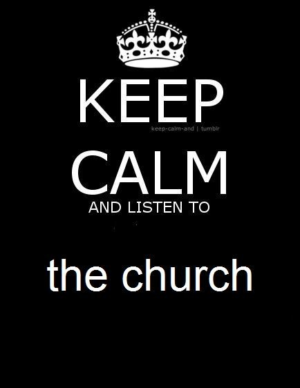 Keep calm and listen to the church band