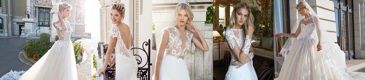 Stunning Italian made wedding gowns that will take your breath away!