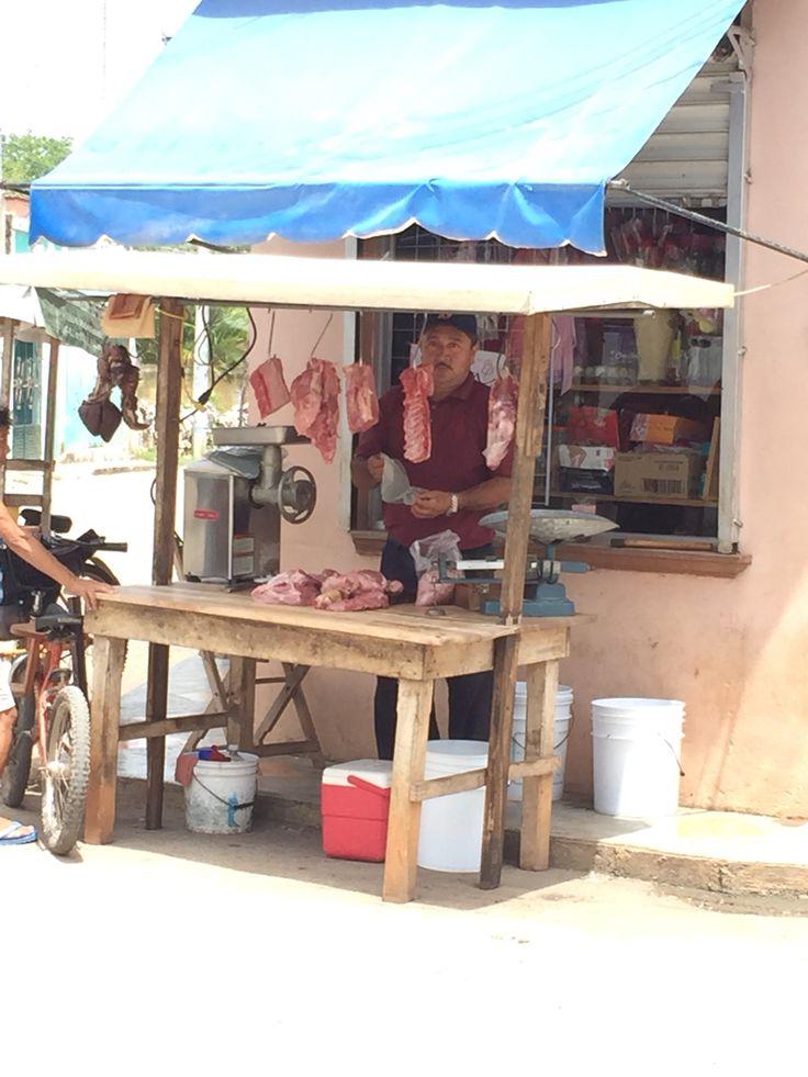 Carnicería en Tzucacab Yucatan