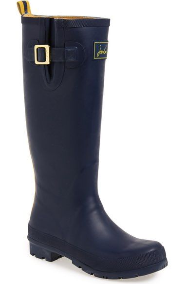 Joules 'Field Welly' Rain Boot (Women) available at #Nordstrom