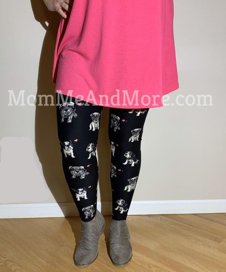 Women S Puppy Dog Leggings Fashion Women Women S Leggings