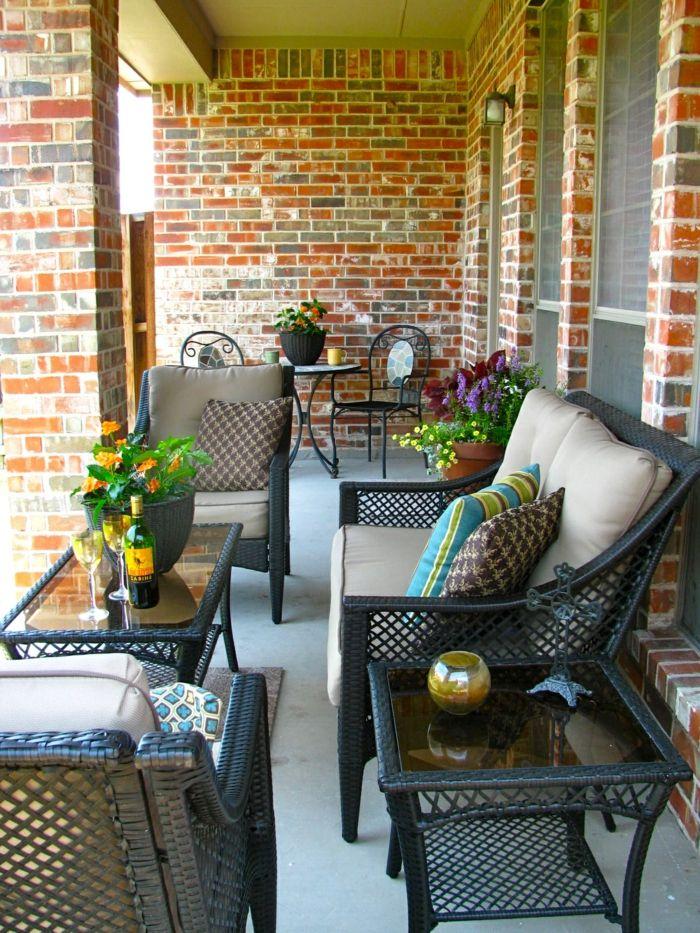 ▷ 1001 + Ideen zum Thema stilvollen kleinen Balkon gestalten ...