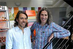 Pukka Founders Tim Westwell and Sebastian Pole