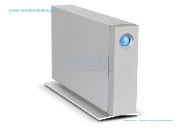LaCie d2 Thunderbolt 2 3TB - Nové d2 LaCie opäť zdvihlo latku na najviac dôveryhodný stolný disk v tomto sektore. Získajte prácu rýchlejšie - na akomkoľvek počítači - s dvojitým Thunderbolt 2, USB 3.0 a 6 TB 7200 RPM pevným diskom. Vďaka svojmu inovatívnemu, celohliníkovému unibody dizajnu, produkuje neuveriteľne nízke vibrácie a hlučnosť. Dokonca umožňuje až päťnásobnú rýchlosť inštaláciou LaCie d2 SSD Upgrade (predáva sa samostatne). Najlepší vo svojej triede pre rýchlosť, univerzálnosť a…