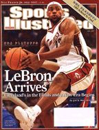 LeBron James may be very wealthy now but if you read this you'll see he had to persevere through a lot of hard times.