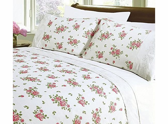 K LIVING Rose Lace White Floral Duvet Cover Bedding Set Size: Single Our bed linen set combines the softness of cotton and the strength and durability of polyester. This easy-care duvet cover can be a real time saver as it washes well and (Barcode EAN = 5032669248580) http://www.comparestoreprices.co.uk//k-living-rose-lace-white-floral-duvet-cover-bedding-set-size-single.asp