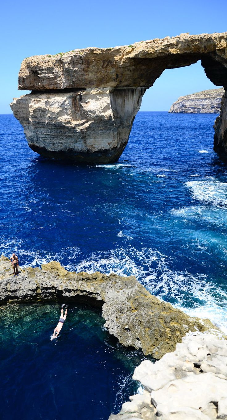 Azure Window - Mediterranean Sea, Malta