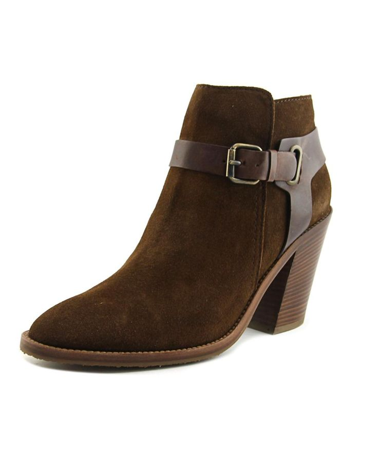 AQUATALIA BY MARVIN K | Aquatalia By Marvin K Liana Women  Pointed Toe Suede Brown Ankle Boot #Shoes #Boots & Booties #AQUATALIA BY MARVIN K