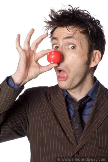 David Tennant nose that when you buy a Red Nose, you help children in need around the world. Learn more by visiting rednoseday.org | Red Nose Day USA