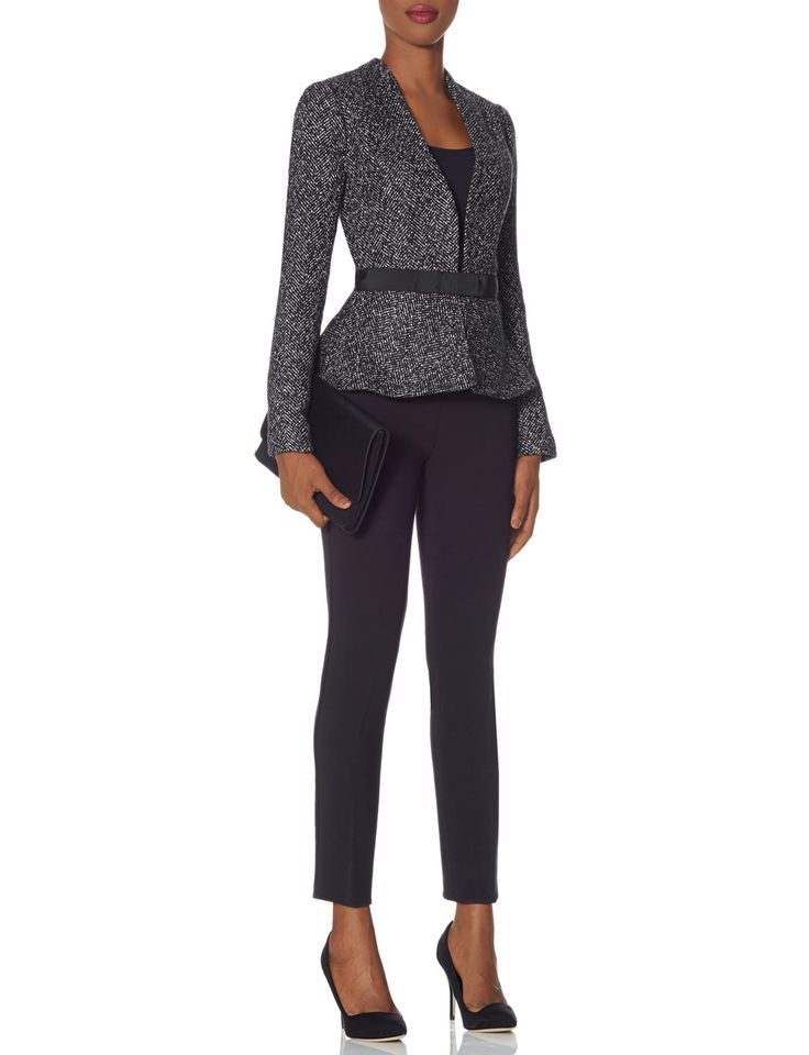 Belted Peplum Jacket #TheLimited #ScandalStyleTheLimited #OliviaPope #ItsHandled #W2W #WearToWork
