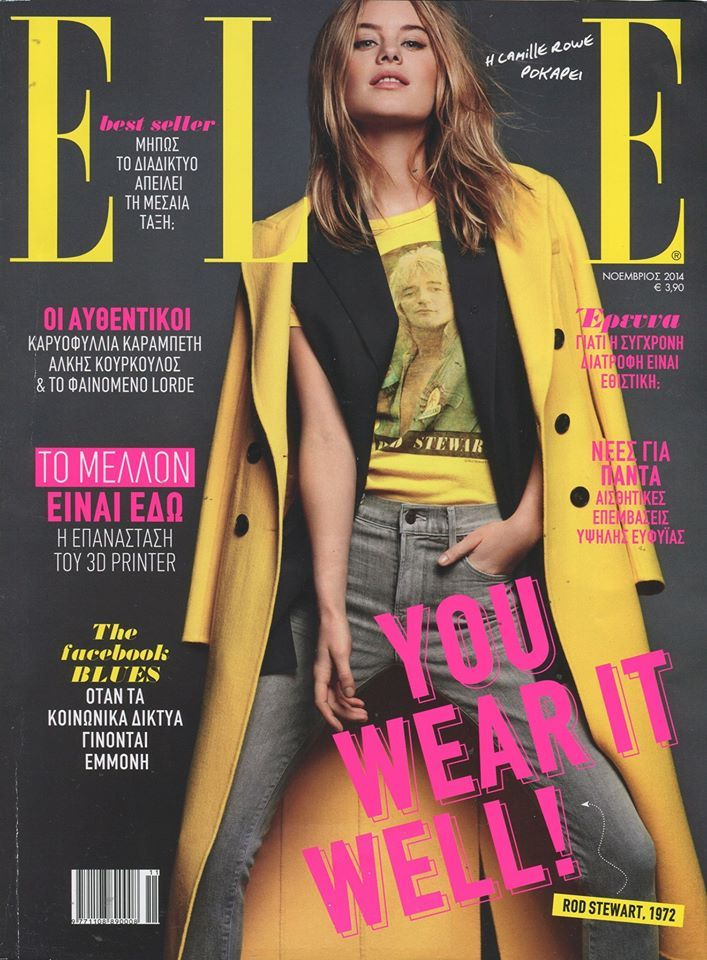 Enjoy photos from Elle magazine with #DOCA products  #media