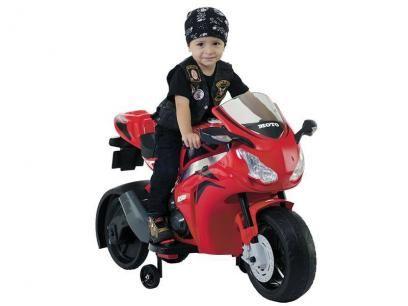 Moto Elétrica Infantil Honda  Adventure - 2 Marchas com Sons - Biemme com as melhores condições você encontra no Magazine Shopspremium. Confira!