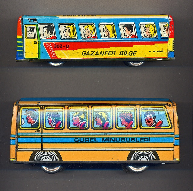 Toys That Were Made In The 1970 : Tin buses made in turkey s vintage toys