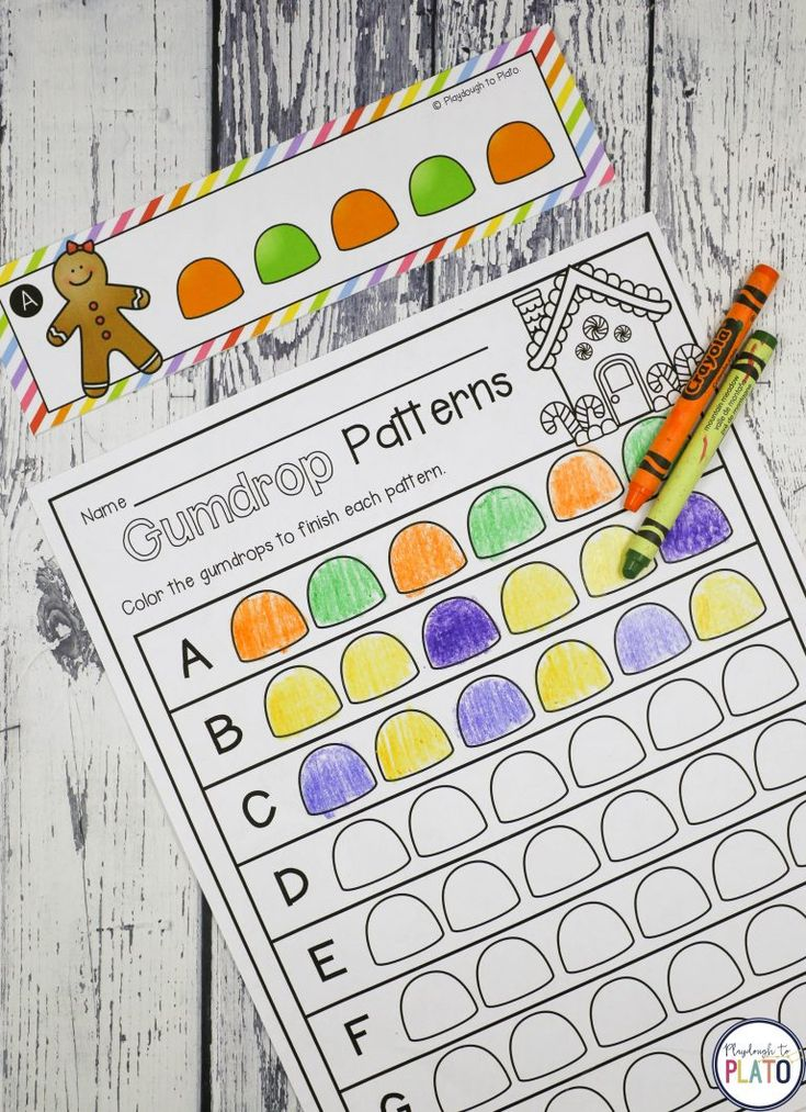 Activities for ages 3 to 6. Gingerbread activities are always a hit with kids and this batch of literacy and math games is no exception. Pre-K and kindergarten students will love the 13 motivating activities includingalphabet puzzles, counting activities, sight word games, graphing sheets, pattern cards, addition and subtraction activities and more. Grab your set …