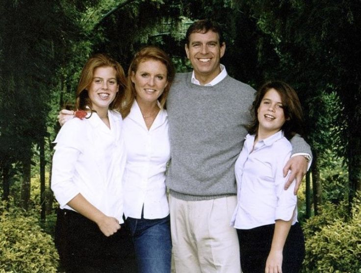 Prince Andrew and family