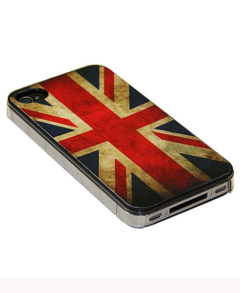Union Jack Pattern iPhone 4 Case from Chicnova.... Ok, kinda a personal obsession with flags.. esp the british flag ~Shae