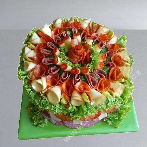 slaný dort kulatý exclusiv