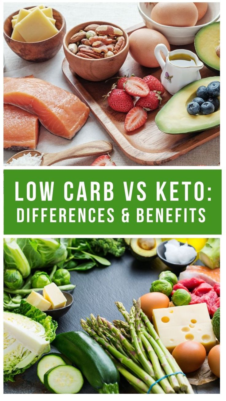 Low Carb VS Keto: Difference & Benefits | Keto vs low carb ...