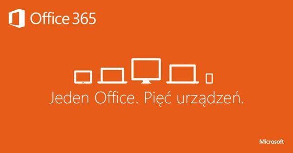 Banner tworzony na potrzeby promocji #Office365dlaFirm