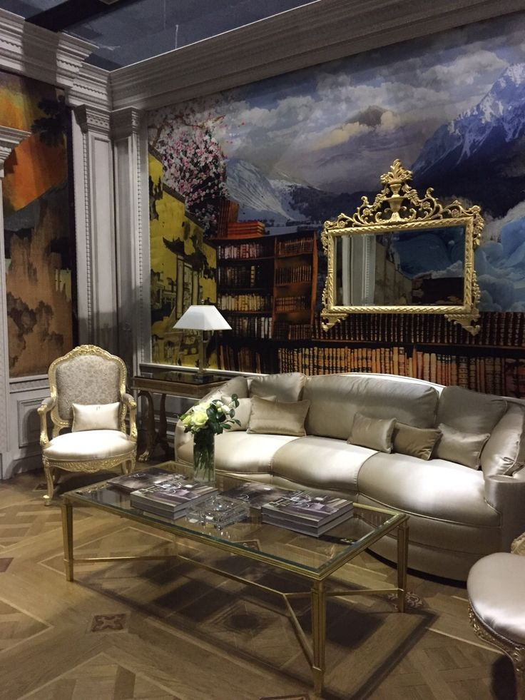 Stand Medea, Salone del Mobile Milano, April 14/19 2015. Sofa produced with fabric Satin Cuir, Taroni.