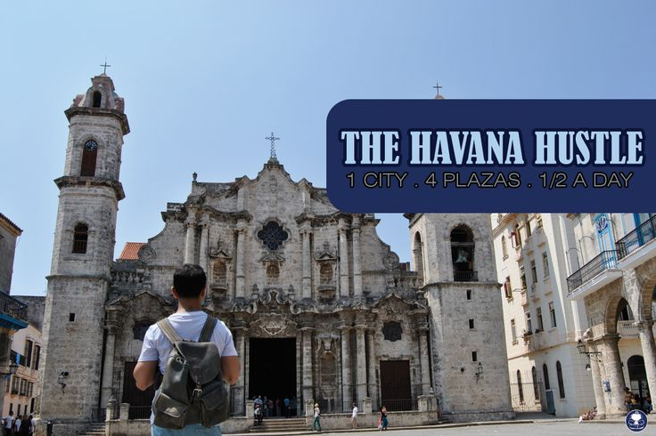 """The Havana Hustle"". #traveltips how to make the most out of the visit of Havana if you have #half day only.Check it out.  By @kunalchaudhry and his Little Blue Rucksack."