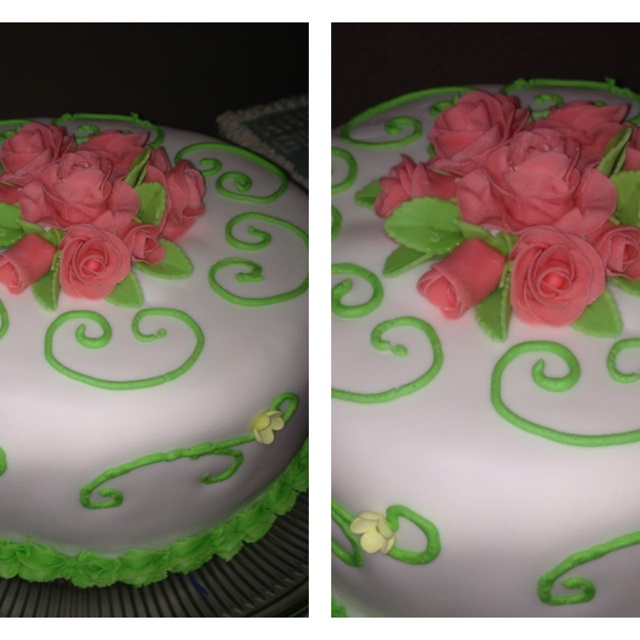 Birthday cake for a special girl friend.