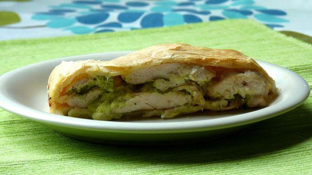 Csiperke blogja: Cukkinis-csirkés rétes